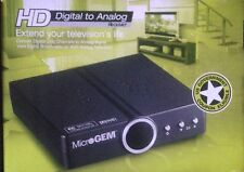 Digital Converter Box MICROGEM Digital To Analog Receiver COMPACT MG2000-D2A