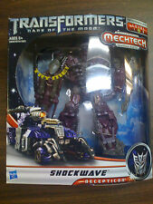 Transformers DOTM Shockwave Voyager Class Mechtech  NEW FREE SHIP US
