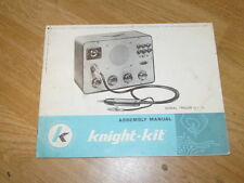 Vintage 1959 KNIGHT KIT 83Y135 83 Y 135 Signal Tracer Assembly Manual J751