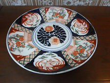 Antique LARGE Japanese IMARI Charger Plate