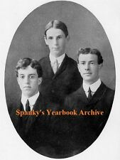 1905 Berkeley CA High School Yearbook~Photos~History~Baseball~Cartoons~Frats~Ads