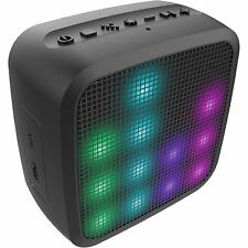 HMDX Jam Trance Mini Bluetooth Wireless Portable Speaker & LED Bright Light Show