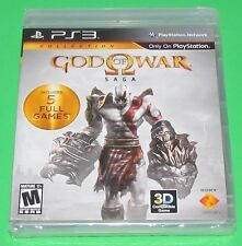 God of War Saga Playstation 3 PS3 Factory Sealed