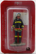 Figurine Collection Del Prado Pompier Tenue de Feu Santiago du Chili 1992 Figure