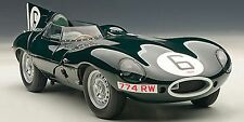 Autoart Jaguar D Type LeMans 24 Hr Race 1955 Winner Hawthorn/Bueb #6 1/18 In Stk