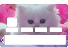 Stickers Autocollant Skin Carte bancaire CB personnalisée  réf 1130
