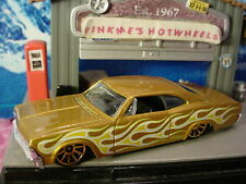 New! 2017 HW Flames '65 CHEVY IMPALA☆metallic gold; 10sp☆LOOSE Hot Wheels
