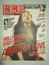 NME DECEMBER 1 2001 PAUL MCCARTNEY COURTNEY LOVE STROKES NIRVANA BONO BLUR