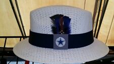 MENS MEDIUM COWBOYS LOWRIDER HATS FEDORA VINTAGE ROCKABILLY RAT ROD