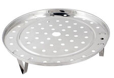 Stainless steel trivet  for camp oven 215mm x 6mm high clip in legs economy
