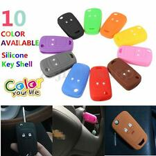 FOR VAUXHALL ASTRA OPEL CORSA INSIGNIA 2 BUTTON 2B SILICONE FLIP KEY SHELL COVER