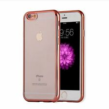 Crystal Clear Rubber Soft Bumper Silicone TPU Back Case Cover For Various Phone