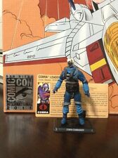 SDCC 2011 Exclusive GI Joe & Transformers Cobra Commander Only-Incomplete-Loose