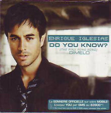 CD single Enrique IGLESIAS Do you know? 2-track CARD SLEEVE NEW