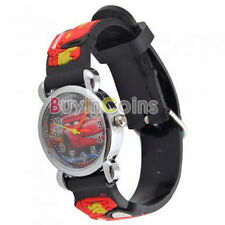 1 x Pixar Car Kid Boy Leather WristWatch Present For Cartoon Mouse Watch UseHFUS