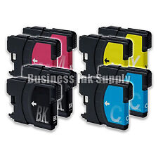 8 LC61 Ink Cartridges for Brother MFC-290C MFC-295CN MFC-J415W MFC-J670 MFC-490