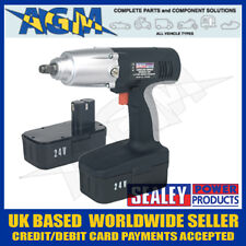 "Sealey CP2400 24v Heavy Duty Cordless 1/2"" Drive Impact Gun plus a Spare Battery"
