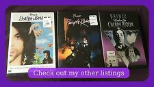 Prince 3 DVD Movies Graffiti Bridge, Purple Rain & Under The Cherry Moon Sealed