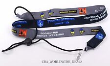 NEW Universal Studios Hollywood Minion Mayhem Transformers Sipper Cup Lanyard