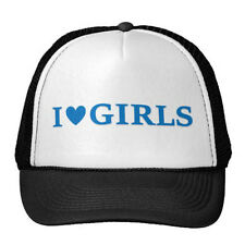 I Heart Girls Trucker Hat Lillyhammer Torgeir Lien Cap New