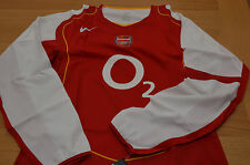 Arsenal Player Issue Longsleeve Match Shirt Nike Code 7 FA Cup 04/05 DEADSTOCK