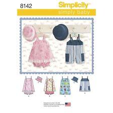 SEWING PATTERN! MAKE BABY BOY~GIRL SUMMER ROMPER~DRESS~HAT! PREEMIE~24 LBS!
