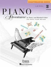 Learn to Play Level 3B Sightreading Piano Adventures TUTOR LESSON Music Book