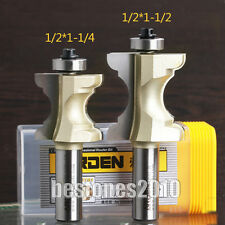 """ARDEN Bullnose with Bead Column/Face Molding Router Bit SPECIALTY 1/2*1-1/4"""" bit"""