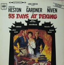 Charlton Heston/ Ava Gardner/ David Niven(Vinyl LP)55 Days At Peking-CBS-SBPG 62