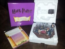 ENESCO masterpiece collection HARRY POTTER through the trapdoor lighted figurine