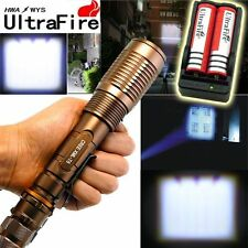 3000 Lumen Zoomable CREE XML T6 LED 18650 Flashlight Focus Torch Lamp Adjus