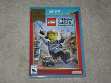 LEGO CITY UNDERCOVER...NINTENDO WII U...***SEALED***BRAND NEW***!!!!!