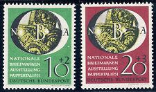 BUND 1951, MiNr. 141-142, 141-42, postfrischer Kabinettsatz, Mi. 90,-