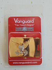 USCG US COAST GUARD ALL O1-O6 OFFICER RANKS RATES UNIFORM PANTS GOLD BELT BUCKLE