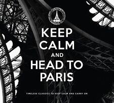 KEEP CALM AND HEAD TO PARIS 2 CD NEU EDITH PIAF/LEO FERRE/BRIGITTE BARDOT/+