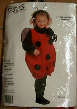 Charades Little Ladybug Romper Halloween Costume w/Stockings Infant 6-18 mos
