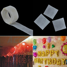 100Pcs Roll Super Sticky Double Sided Rubber Adhesive Point Glue Dot For Balloon
