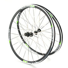 Vision Team 30 700c Aero Road Triathlon Wheelset White/Green