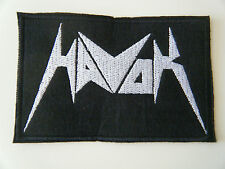 HAVOK PATCH Embroidered Sew Iron On Sacred Reich Testament Thrash Badge NEW