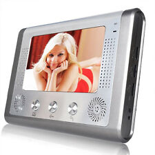 "7"" Video Door Phone Doorbell Door Bell Intercom IR Camera Monitor Night Vision"