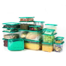 17Pcs/set Container Fresh Vacuum Box Saver Food Storage Reuseable Microwave New