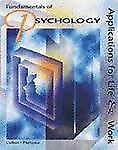 Fundamentals of Psychology: Applications for Life and Work Culkin, Joseph, Perr