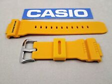 Genuine Casio G-Shock GW-7900CD GW-7900CD-9 yellow resin rubber watch band strap