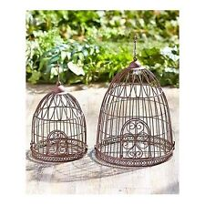 Decorative Bird Cage Metal Large Small Vintage Hanging Garden Planter Wedding
