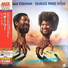 "Billy & Duke, George nastro Cobham - ""Live"" On Tour in Europe CD NUOVO"
