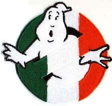 Ireland, Irish Flag Style Embroidered Ghostbusters No Ghost Patch