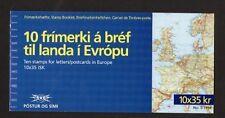 Iceland 1994 Europa St Brendans Voyage's Stamp Booklet  SB18 UM