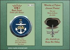 Royale Military Car Grill Badge THE WOMEN'S ROYAL NAVAL SERVICE WRENS - B2.1620