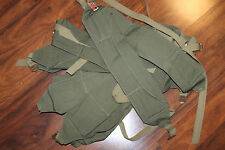 (1) Original WW2 U.S. Army 3 Pocket GI OD Cloth Money Belt, From Unissued Lot