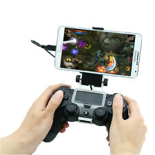 Android Cell Phone Game Clip Clamp Holder for SONY PS4 Playstation 4 Controller